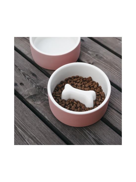 PAIKKA - Slow Feed Bowl Pink M - 19   Stockmann - photo 2