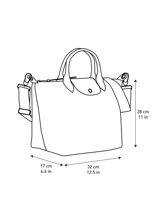 Longchamp - Le Pliage Néo Top handle bag M -Laukku - TAUPE | Stockmann - photo 4