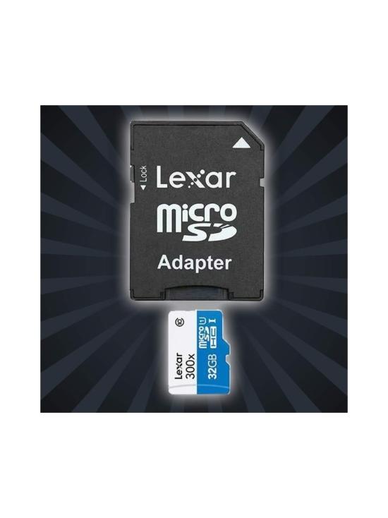 Lexar - Lexar 32GB 300x microSDHC UHS-I (U1) muistikortti - null | Stockmann - photo 1