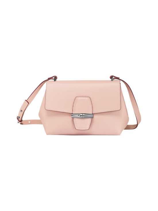 Longchamp - Roseau Box Crossbody Bag - Nahkalaukku - POWDER | Stockmann - photo 1