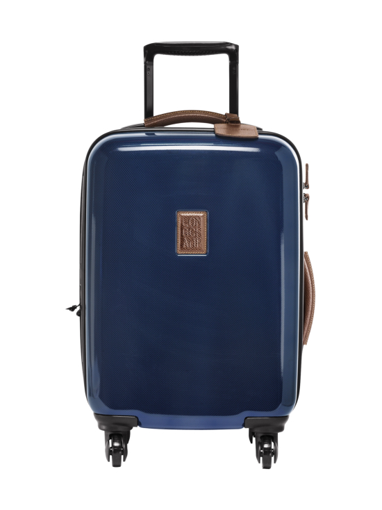 Longchamp - Boxford + - Extensible Boarding Case - Laajennettava Vetolaukku - BLUE | Stockmann - photo 1