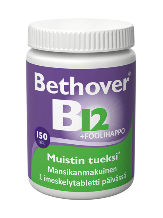 Bethover - Bethover B12-vitamiini + foolihappo | Stockmann - photo 1