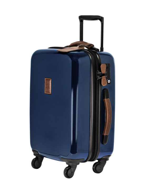 Longchamp - Boxford + - Extensible Boarding Case - Laajennettava Vetolaukku - BLUE | Stockmann - photo 2