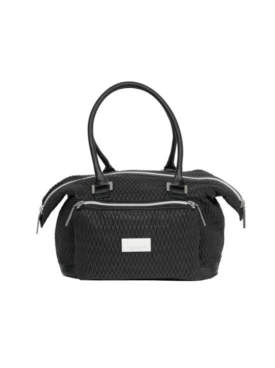 BELIEVE by tuula rossi - SMART BAG Black Stretch Tikkikangas Käsilaukku - BLACK, MUSTA | Stockmann - photo 1