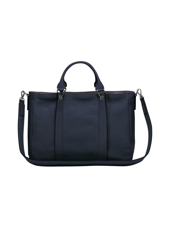 Longchamp - Longchamp 3D Top Handle Bag M - Nahkalaukku - MIDNIGHT BLUE | Stockmann - photo 3