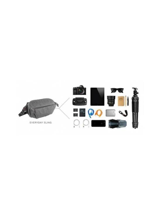 Peak Design - Peak Design Everyday Sling 10L kameralaukku - Black   Stockmann - photo 3