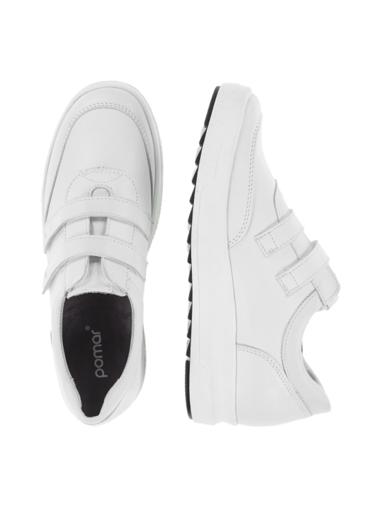 Pomar - TUOMI Naisten sneakerit - WHITE SOFT NAPPA (SNEAKER S) | Stockmann - photo 6