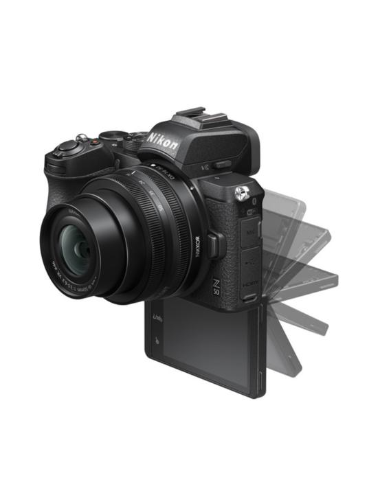 Nikon - Nikon Z50 + Nikkor Z 16-50mm VR + FTZ-adapteri - null | Stockmann - photo 3