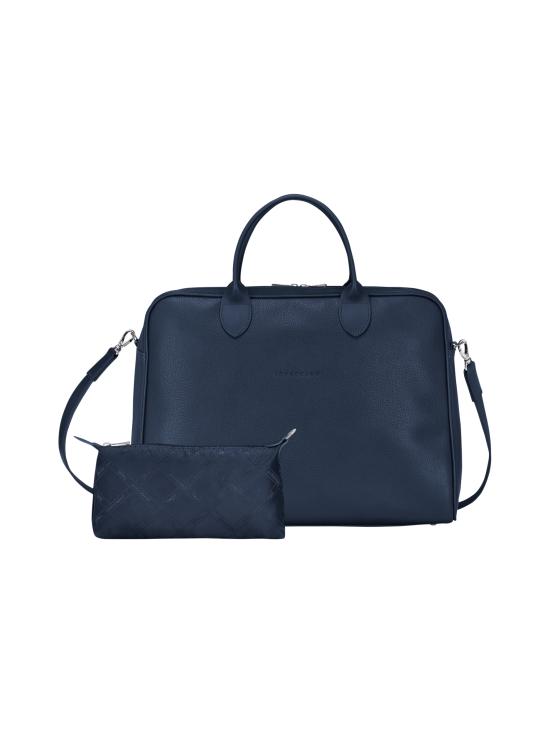 Longchamp - Le Foulonné - Briefcase L - Salkku - NAVY | Stockmann - photo 4
