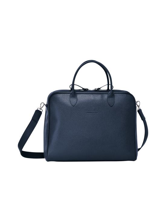 Longchamp - Le Foulonné - Briefcase M - Salkku - NAVY | Stockmann - photo 1