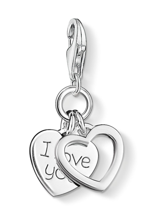 Thomas Sabo - Thomas Sabo pendant I Love You Hearts -hela | Stockmann - photo 1