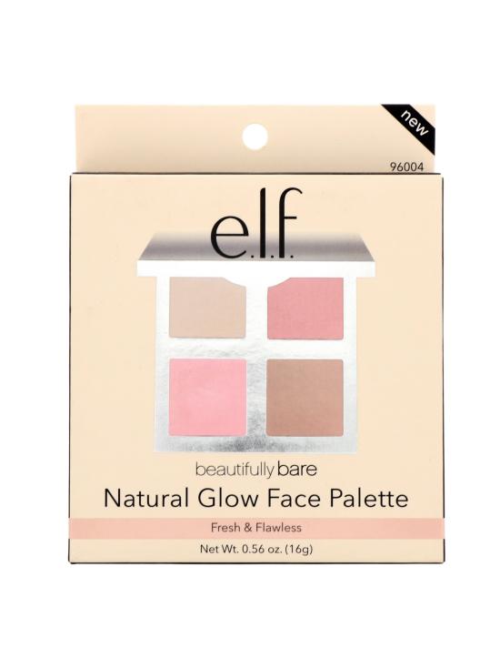 ELF Cosmetics - Natural Glow Face Palette -4 meikkituotteen paletti 16g | Stockmann - photo 4