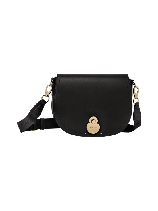 Longchamp - Cavalcade Crossbody Bag - Nahkalaukku - BLACK | Stockmann - photo 1