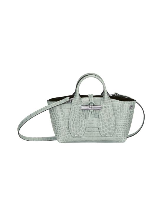 Longchamp - Roseau Croco - Top handle bag XS - Nahkalaukku - JADE | Stockmann - photo 2