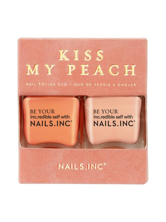 NAILS INC - Kiss My Peach -kysilakkaduo 2x14ml - 12   Stockmann - photo 1