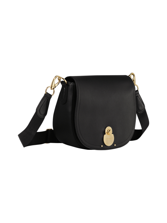 Longchamp - Cavalcade Crossbody Bag - Nahkalaukku - BLACK | Stockmann - photo 2
