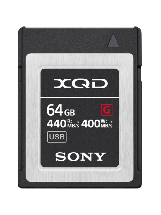 Sony - Sony XQD 64GB G-series muistikortti | Stockmann - photo 1