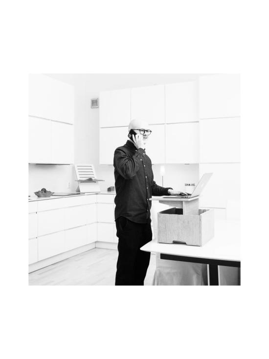 Hima Furniture - Hima Magic Boksi seisomatyöpiste - Gloss Black   Stockmann - photo 3