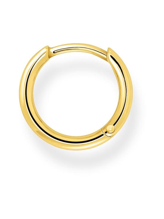 Thomas Sabo - Thomas Sabo Single Hoop Earring Classic Gold -korvakoru | Stockmann - photo 2