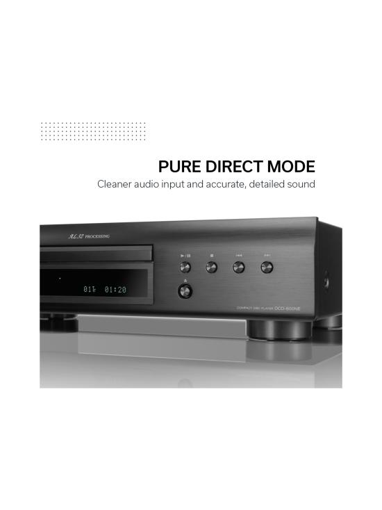 Denon - Denon DCD-600NE CD-soitin, musta | Stockmann - photo 5