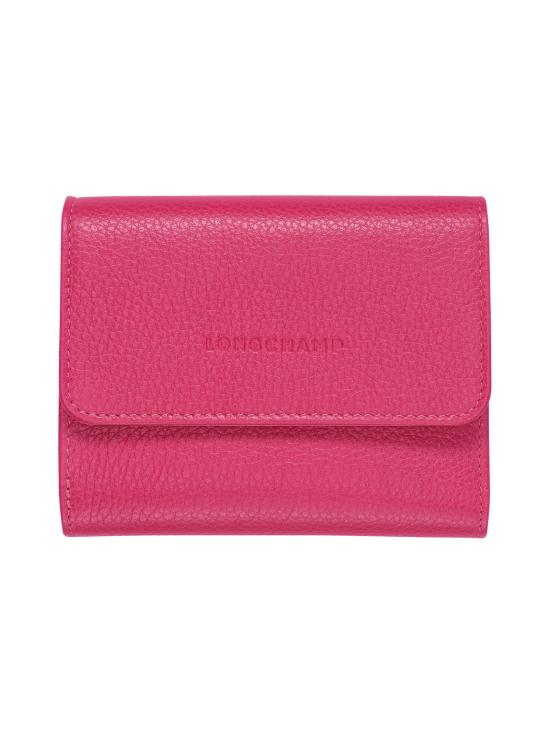Longchamp - Le Foulonné – Compact Wallet – Nahkalompakko - PINK | Stockmann - photo 1