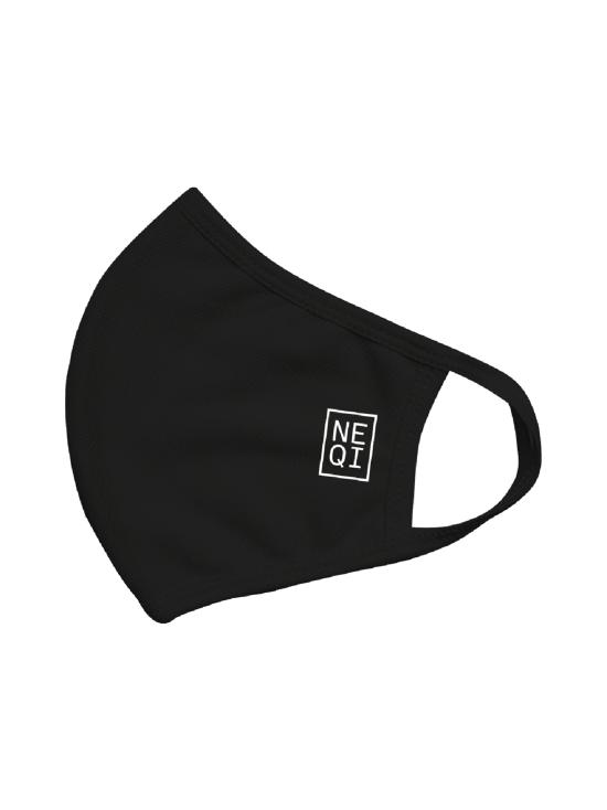 NEQI - NEQI Reusable Face Mask Black, M-L 3kpl - MUSTA | Stockmann - photo 1