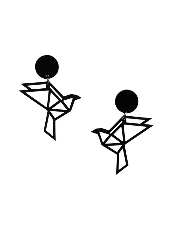 YO ZEN - Dove Sphere -nappikorvakorut, musta - MUSTA | Stockmann - photo 1