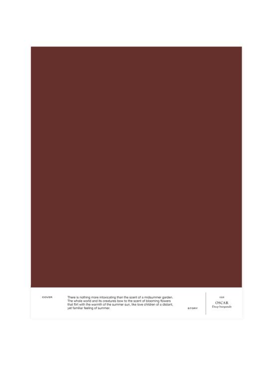 Cover Story - Sävymalli 025 OSCAR - deep burgundy   Stockmann - photo 1