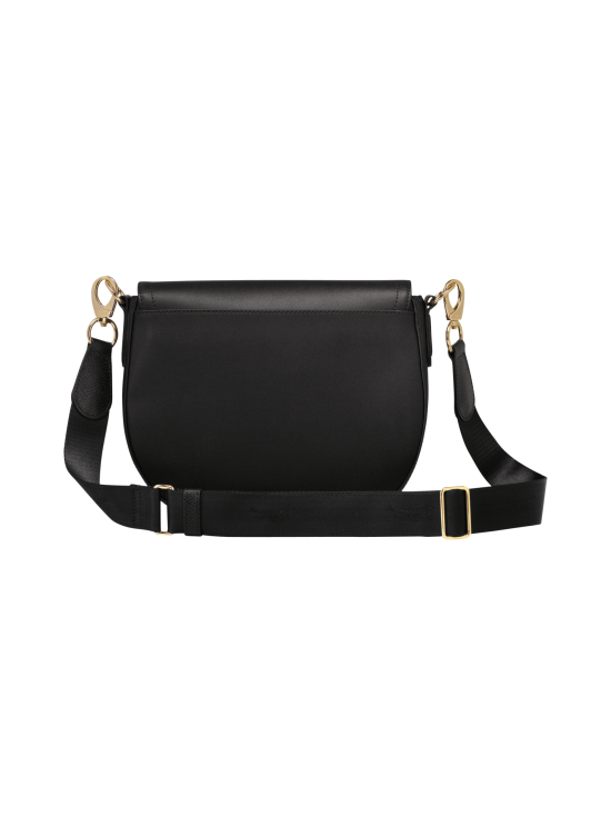 Longchamp - Cavalcade Crossbody Bag - Nahkalaukku - BLACK | Stockmann - photo 3