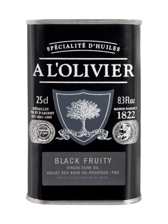 A L'Olivier - Oliiviöljy EVO Black Fruity 250ml - null | Stockmann - photo 1
