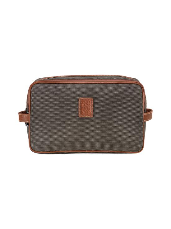 Longchamp - Boxford - Toiletry Case - Toilettilaukku - BROWN | Stockmann - photo 1