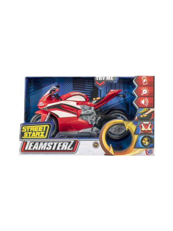 Teamsterz - HTI TEAMSTERZ Mighty Moverz -moottoripyörä, valot ja äänet - null | Stockmann - photo 3