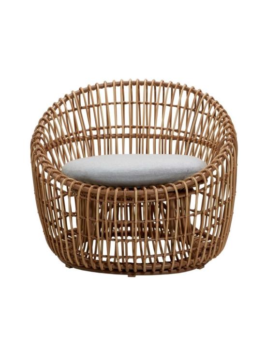 Cane-Line - Nest Round -tuoli - NATURAL, VAALEAN HARMAA   Stockmann - photo 1