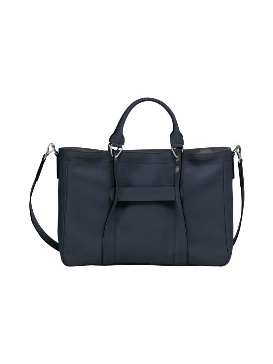 Longchamp - Longchamp 3D Top Handle Bag M - Nahkalaukku - MIDNIGHT BLUE | Stockmann - photo 1