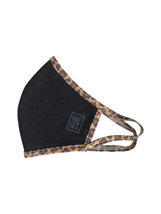 NEQI - NEQI Reusable Face Mask Black Leopard, S/M 3kpl - MULTI | Stockmann - photo 1