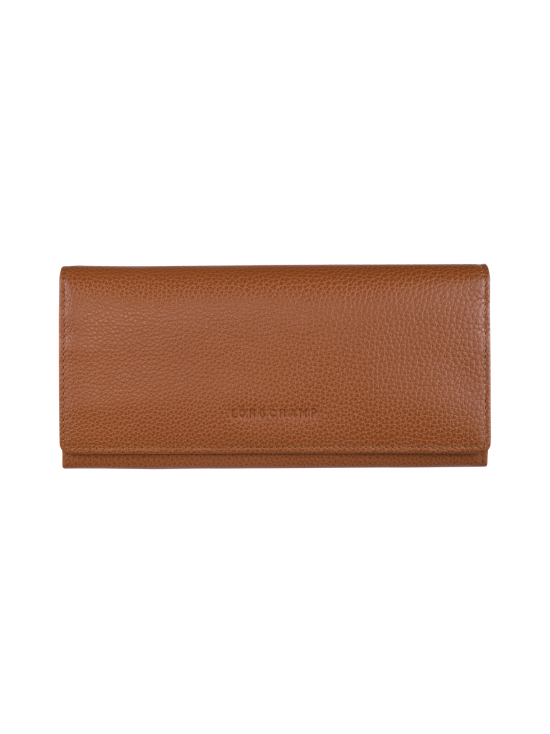 Longchamp - Le Foulonné – Long Continental Wallet – Nahkalompakko - CARAMEL | Stockmann - photo 1