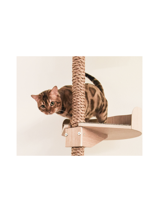 Kissapuu - Kissan Onni kiipeily- ja raapimispuu, koivu & antrasiitti   Stockmann - photo 10