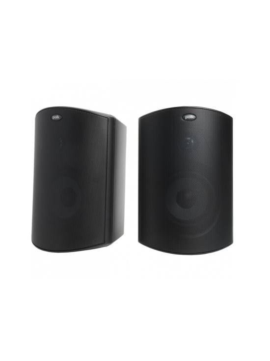 Polk Audio - Polk Audio Atrium6 ulkokaiuttimet, musta pari | Stockmann - photo 1