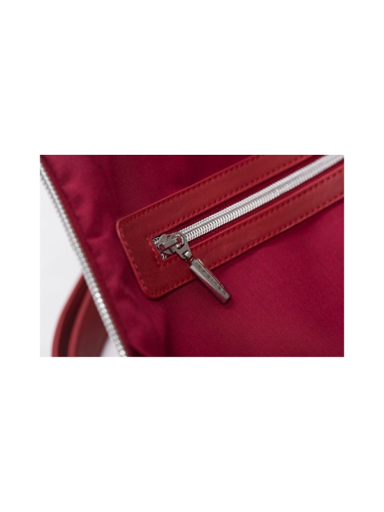 BELIEVE by tuula rossi - CITY Deep Red Stretch Tikkikangas Reppu - DEEP RED, PUNAINEN   Stockmann - photo 7