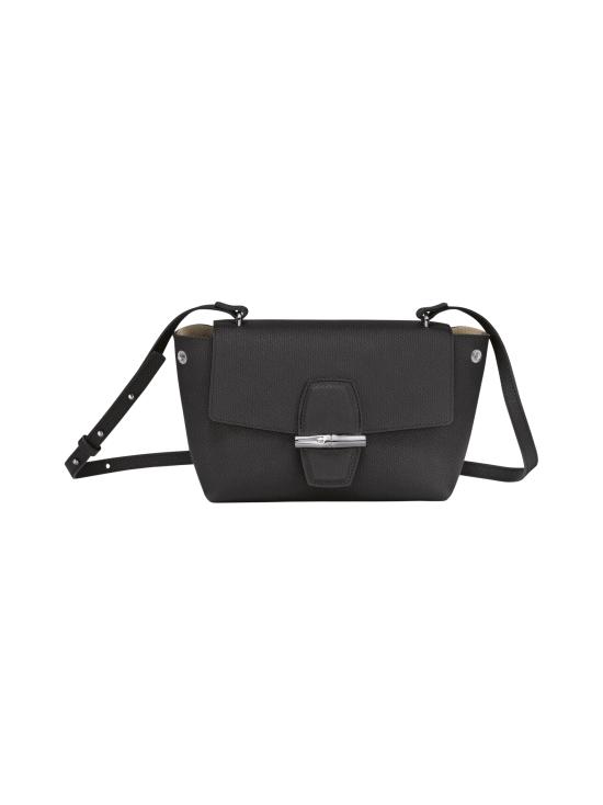 Longchamp - Roseau - Crossbody bag S - Nahkalaukku - BLACK   Stockmann - photo 2