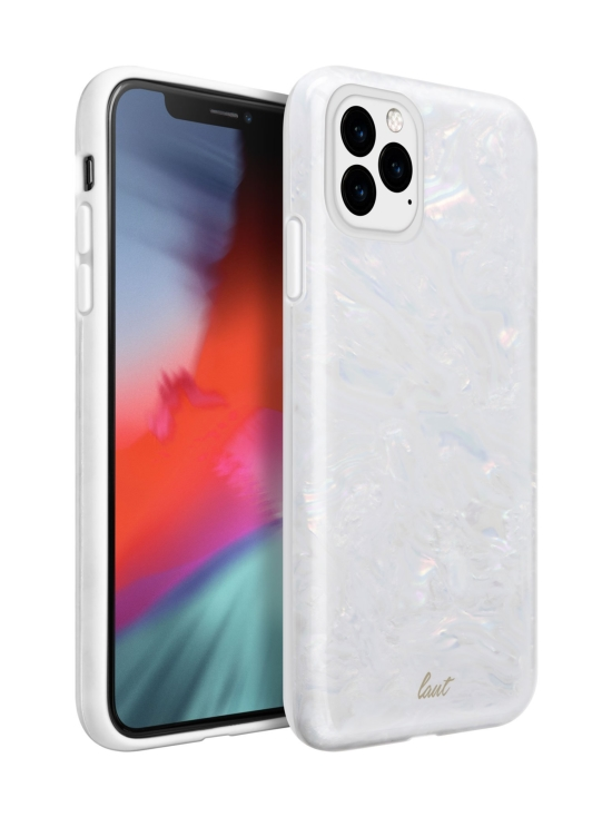 Laut - PEARL iPhone 11 Pro Max -suojakuori - Arctic Pearl - VALKOINEN   Stockmann - photo 1