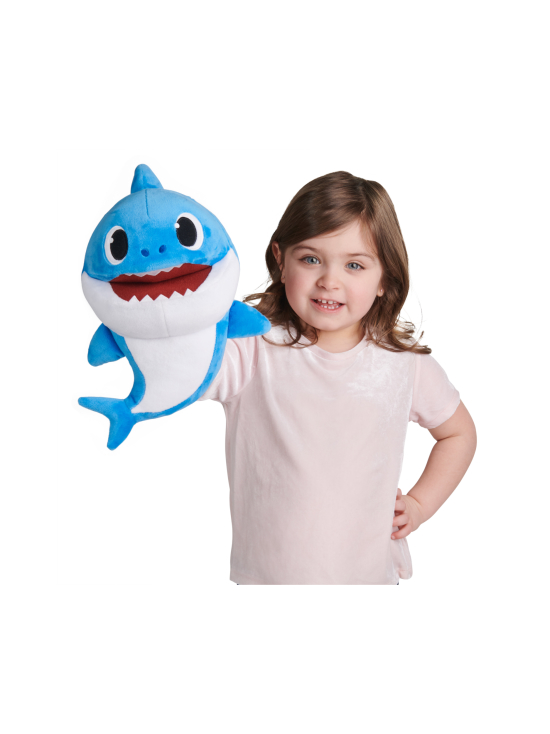 Baby Shark - SMART PLAY BABY SHARK Laulava pehmolelu Daddy Shark, 35 cm - null | Stockmann - photo 1