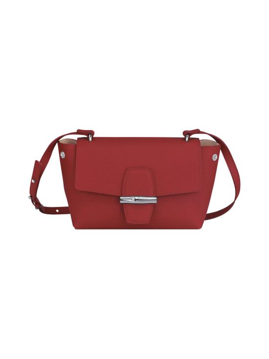 Longchamp - Roseau - Crossbody bag S - Nahkalaukku - RED | Stockmann - photo 2