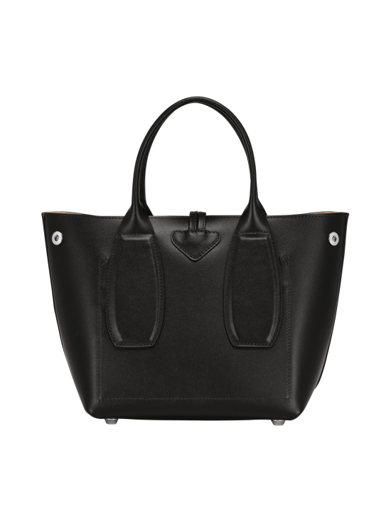 Longchamp - Roseau Box - Cube Bag - Nahkalaukku - BLACK | Stockmann - photo 4