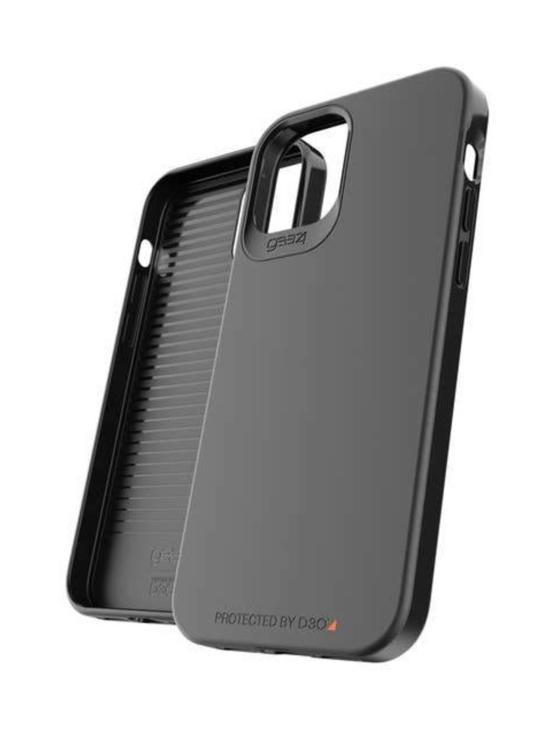 GEAR4 - Holborn Slim iPhone 12/12 Pro-suojakuori (Black) - MUSTA   Stockmann - photo 1