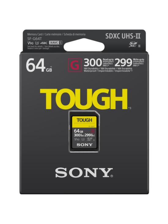 Sony - Sony 64GB SF-G Tough Series UHS-II (V90, Read: 300Mt/s, Write: 299Mt/s) | Stockmann - photo 2