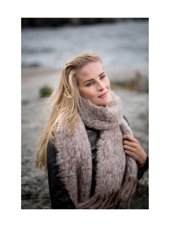 Nordic Swan Living - Mohair -huivi - VAALEANHARMAA | Stockmann - photo 3
