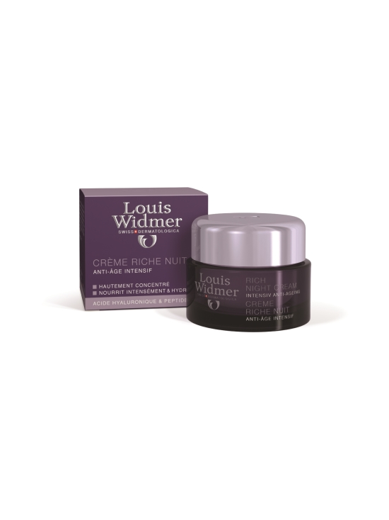 Louis Widmer - Louis Widmer Rich Night Cream -yövoide, hajusteeton, 50 ml | Stockmann - photo 1