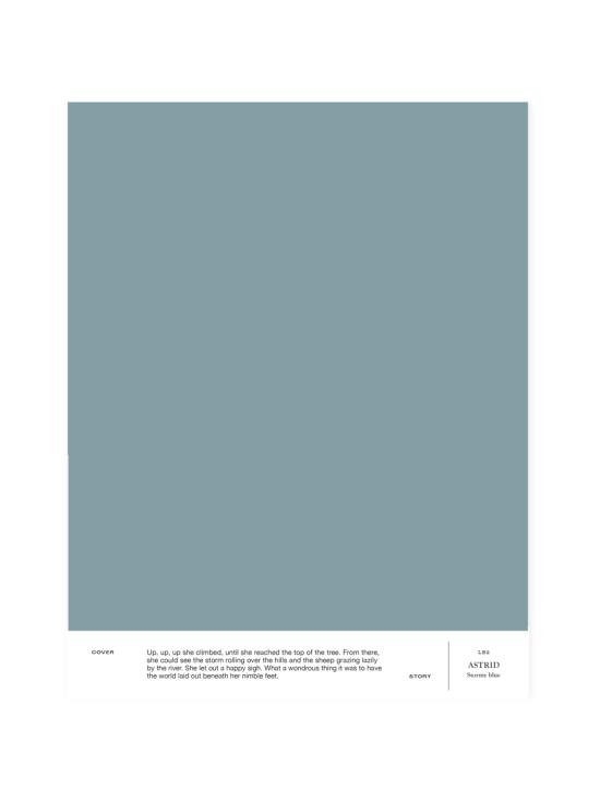 Cover Story - Sävymalli LB2 ASTRID - stormy blue | Stockmann - photo 1