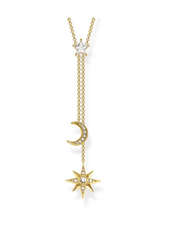 Thomas Sabo - Thomas Sabo Star And Moon Gold -kaulakoru   Stockmann - photo 1